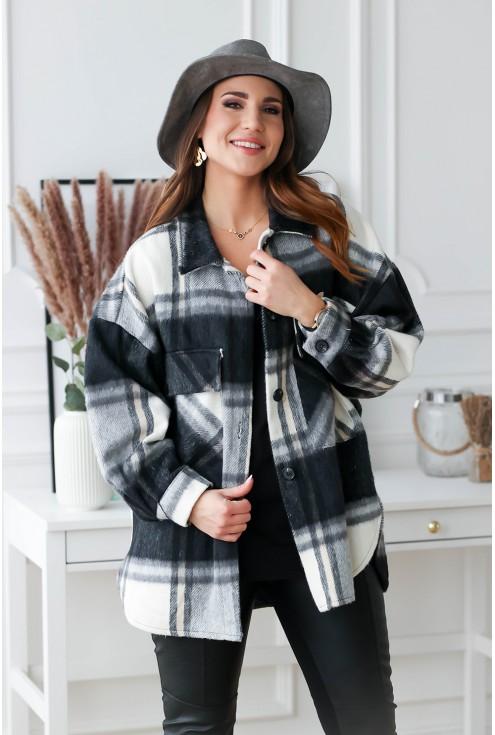 modny płaszcz xxl