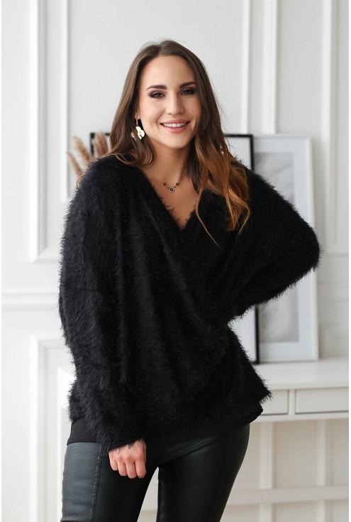 czarny sweter xxl