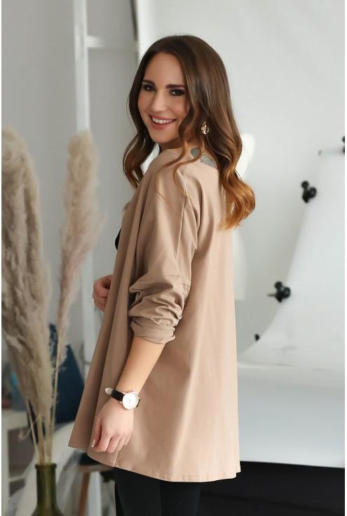 Boki bluzki Bonni w kolorze cappucino
