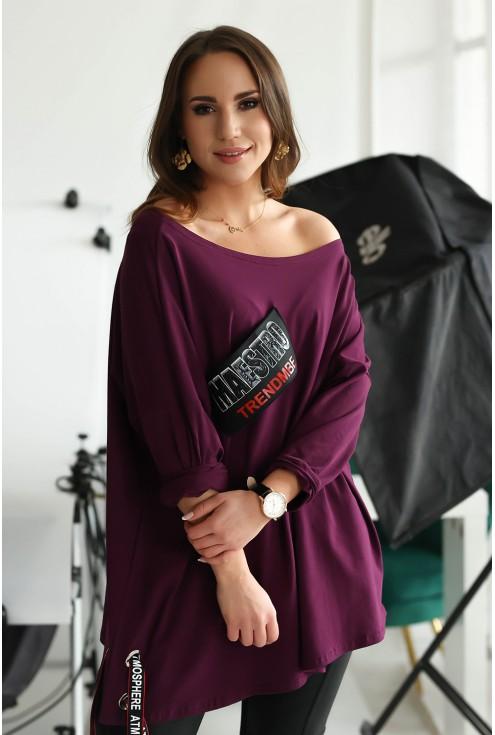 Fioletowa bluzka Bonni xxl