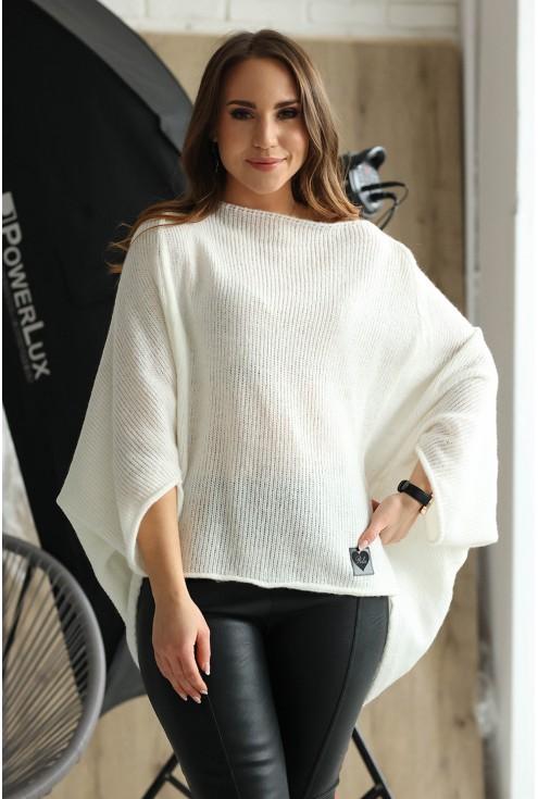 sweterek z obniżoną linią ramion Carina