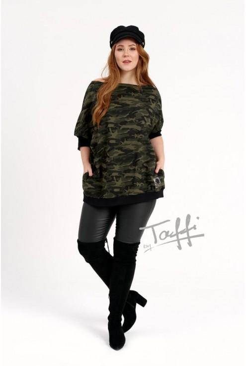 modna bluza moro WEEKEND plus size