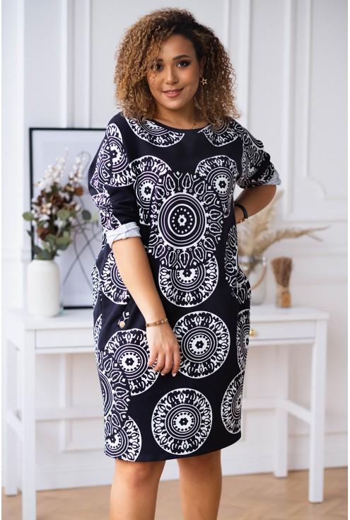 stylowa sukienka plus size