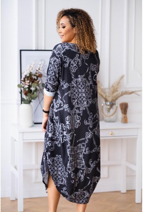 Długa sukienka JAJKO angora