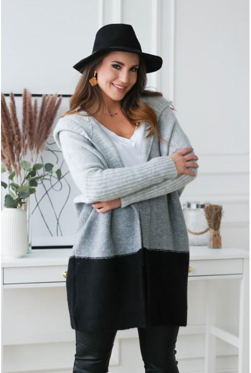 ciepły i modny sweter plus size