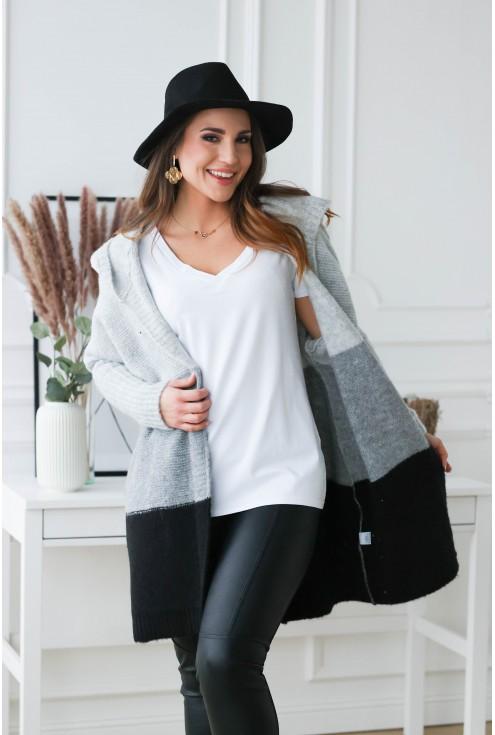 modny sweter xxl na codzień