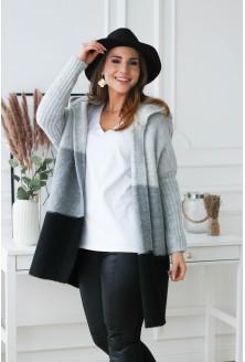 ciepły sweter plus size