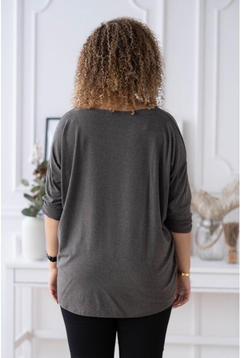 tył bluzki plus size
