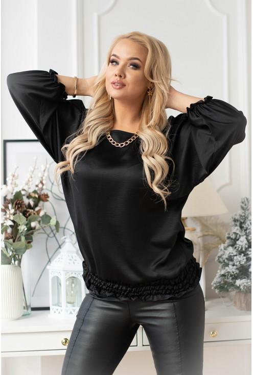 elegancka bluzka nietoperz duże rozmiary xxl