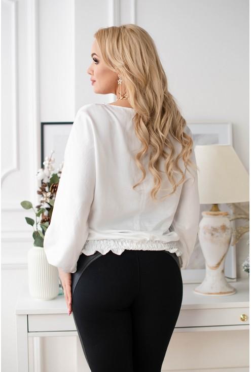 elegancka bluzka plus size