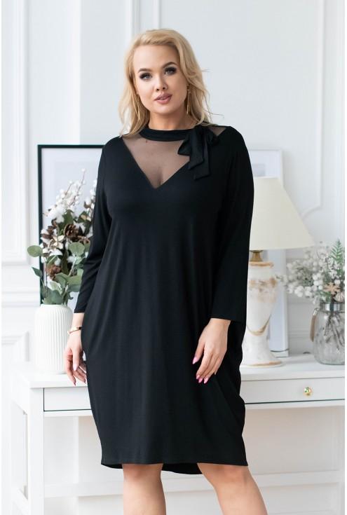czarna sukienka secret