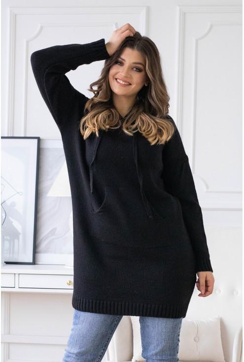 czarny sweterek parmi xxl