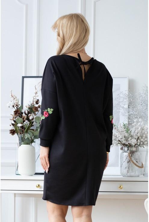 Tył sukienki xxl Roxane