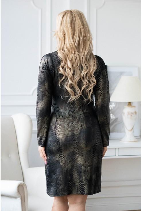 czarna sukiena xxl Palima