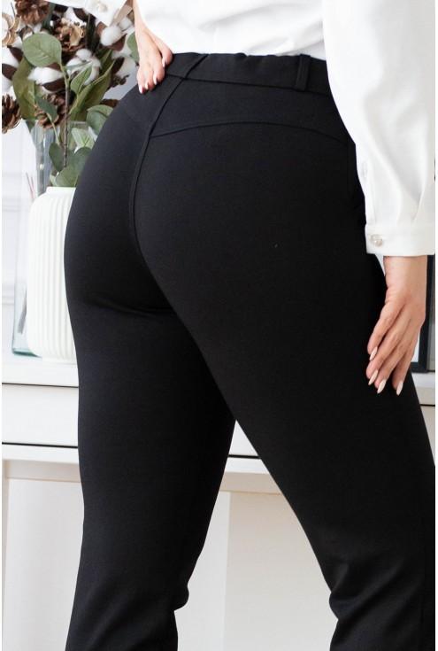 detal - przeszycie z tyłu spodni