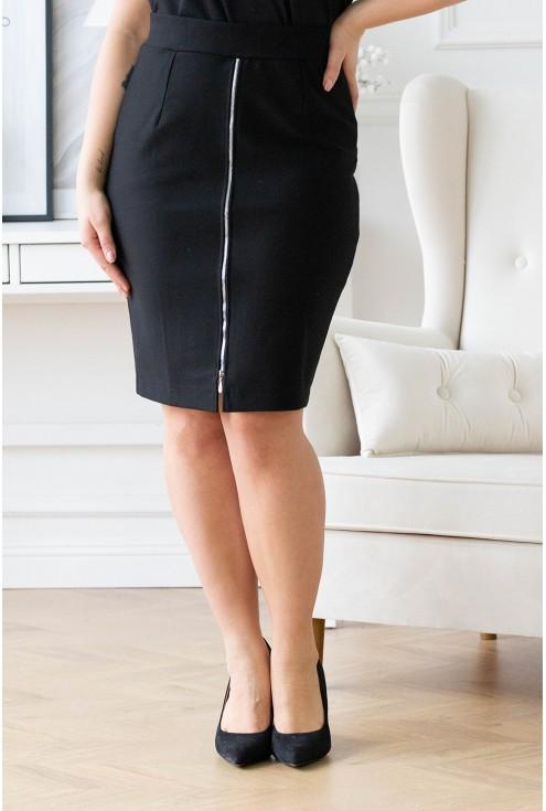 czarna spódnica xxl