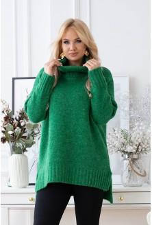 Zielony sweter lesca xxl