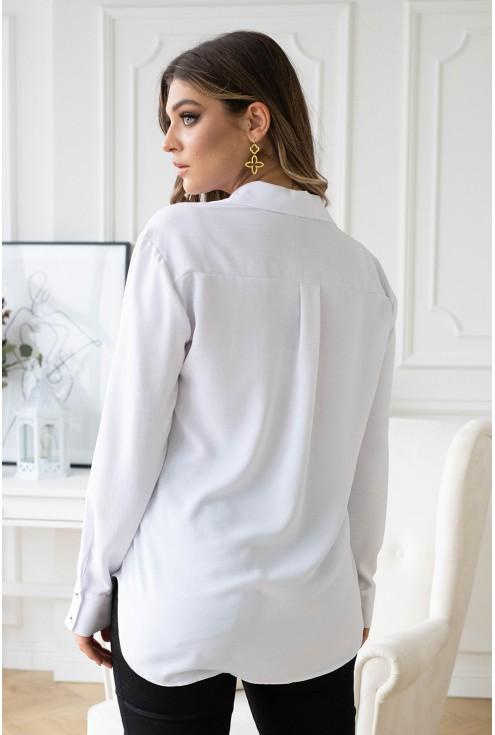 tył białej koszuli xxl