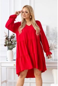 Czerwona sukienka Christine
