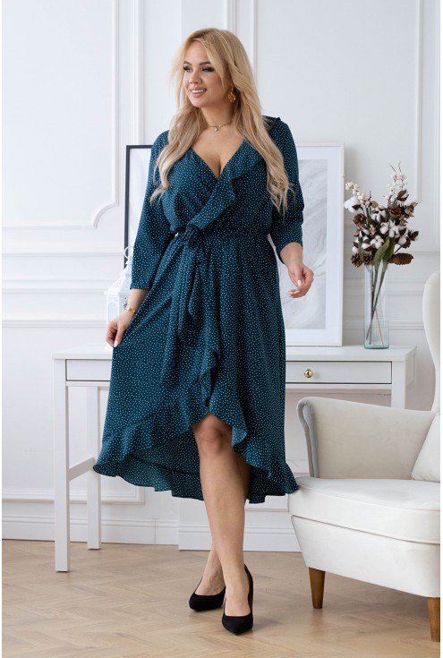 Butelkowa sukienka Liliane