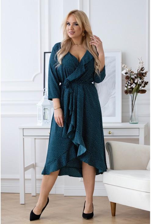 Asymetryczna sukienka Liliane XXL