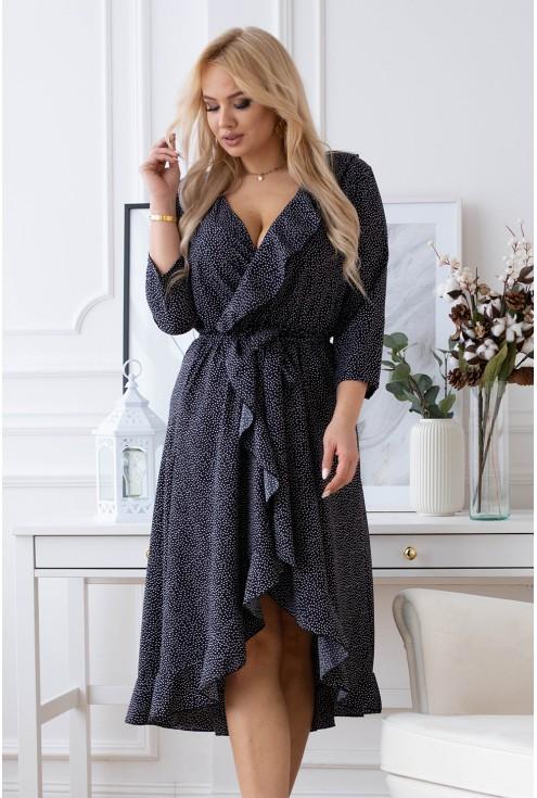Czarna sukienka Liliane XXL