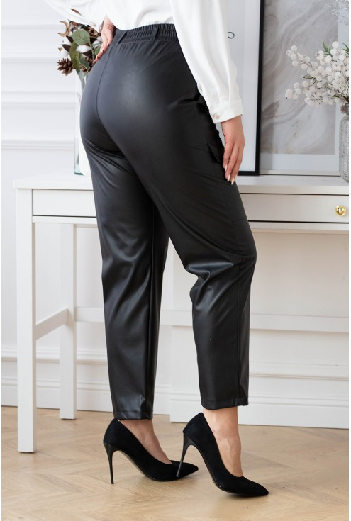 Spodnie z gumką w pasie Nadine