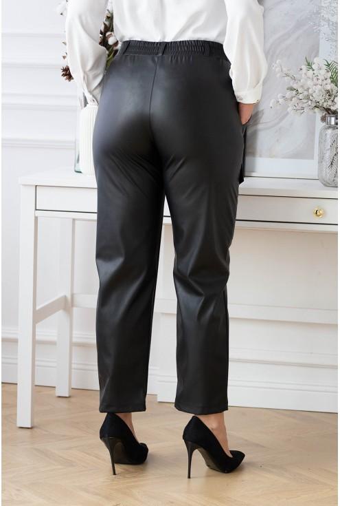 Tył spodni skórkowych XXL