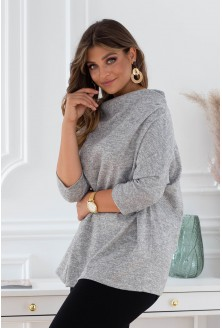 szary sweterek clarissa xxl