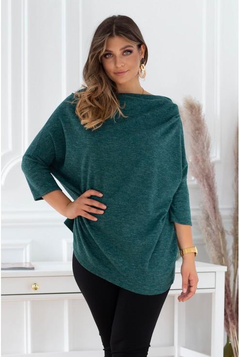 butelkowy sweterek plus size