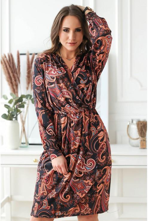sukienka cilia wzorzysta sklep xlka