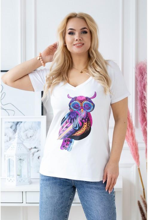 t-shirt sowa xxl