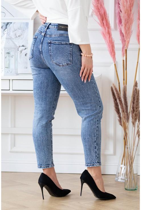 tył spodni Mom Jeans
