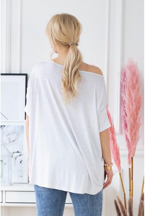 tył bluzki oversize DAGMARA