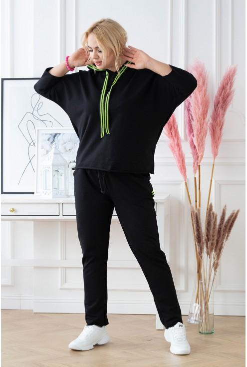 stylowy dres plus size