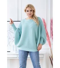 Morski sweterek z poziomym splotem - PEYTON