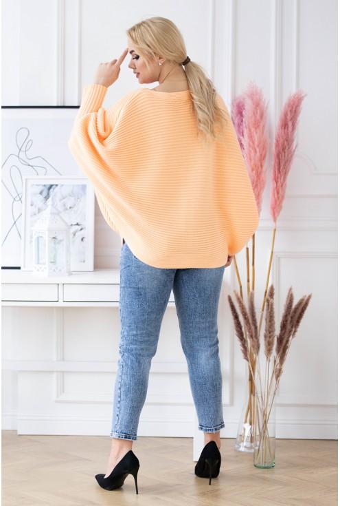sweterek peyton pomarańcz