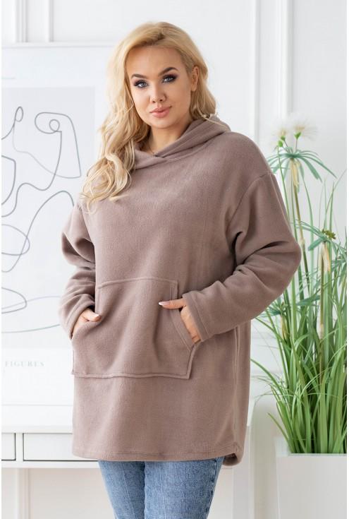 modna bluza polarowa duże rozmiary