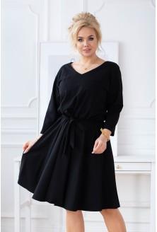 czarna sukienka Cati