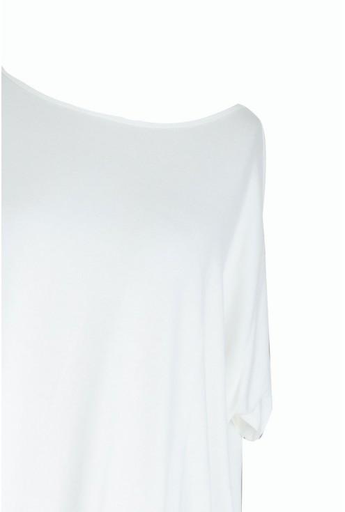 Ecru bluzka oversize - DAGMARA