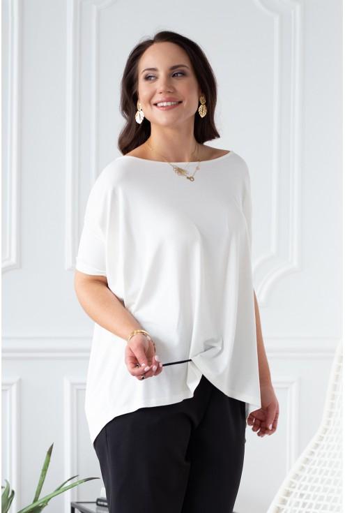 kremowa bluzka dagmara xxl