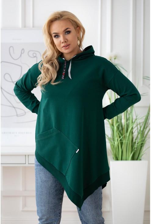 stylowa bluza plus size z kapturem xxl