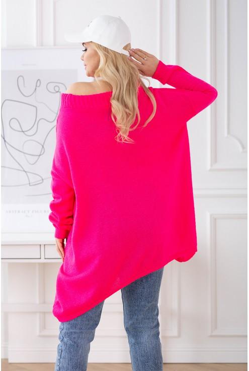 sweterek neonowy Merlin plus size