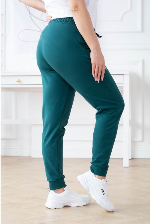 dresowe spodnie plus size