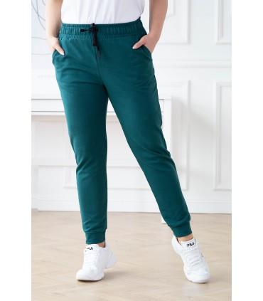 Butelkowe spodnie dresowe - MICHAELA