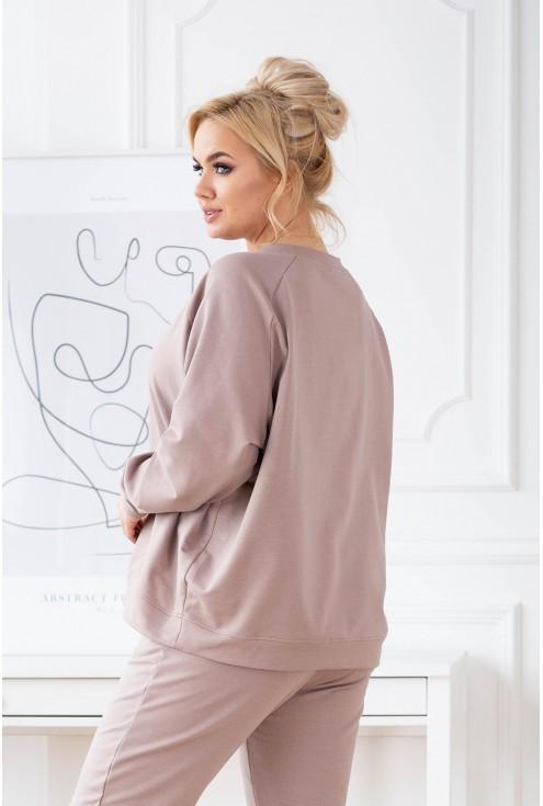 dresowa bluza plus size