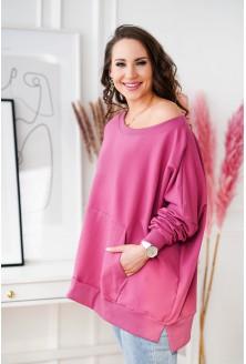 różowa bluza oversize XXL