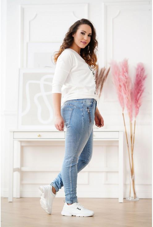 jeansy plus size Felia