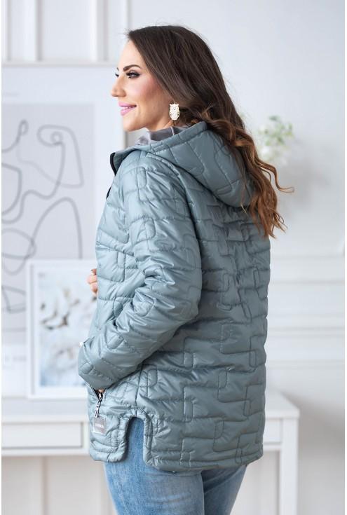 kurtka pikowana plus size