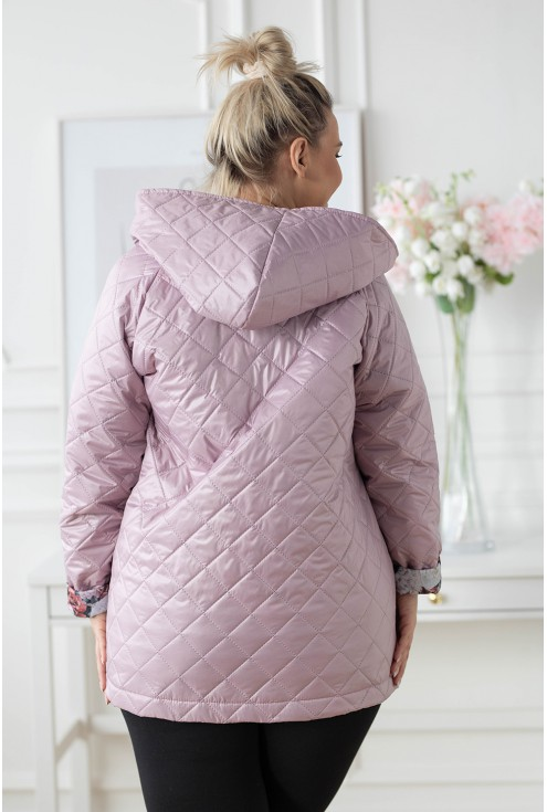 tył kurtki plus size xxl